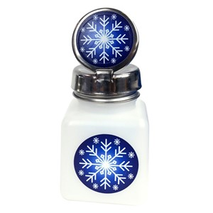 34407-PURE-TOUCH, 4 OZ, NATURAL W/SNOWFLAKE DESIGN