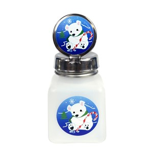 34413-PURE-TAKE, 4 OZ, NATURAL W/POLAR BEAR DESIGN