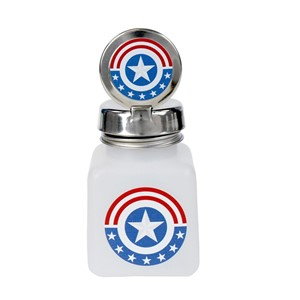 34418-ONE-TOUCH, 4 OZ, NATURAL, W/MEMORIAL DAY STAR EMBLEM DESIGN