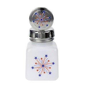 34422-ONE-TOUCH, 4 OZ, NATURAL, W/INDEPENDENCE DAY FIREWORKS DESIGN
