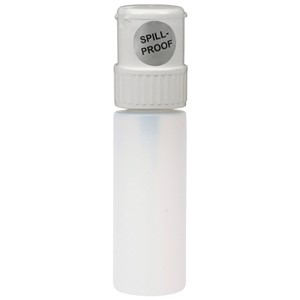WHITE, TWIST-LOCK, ROUND, 4 OZ UNPRINTED