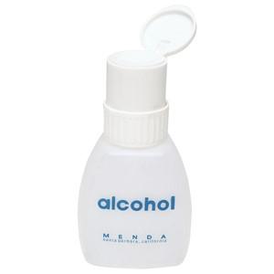 35216-TWIST-LOCK, EURO, ALCOHOL 8 OZ, WHITE