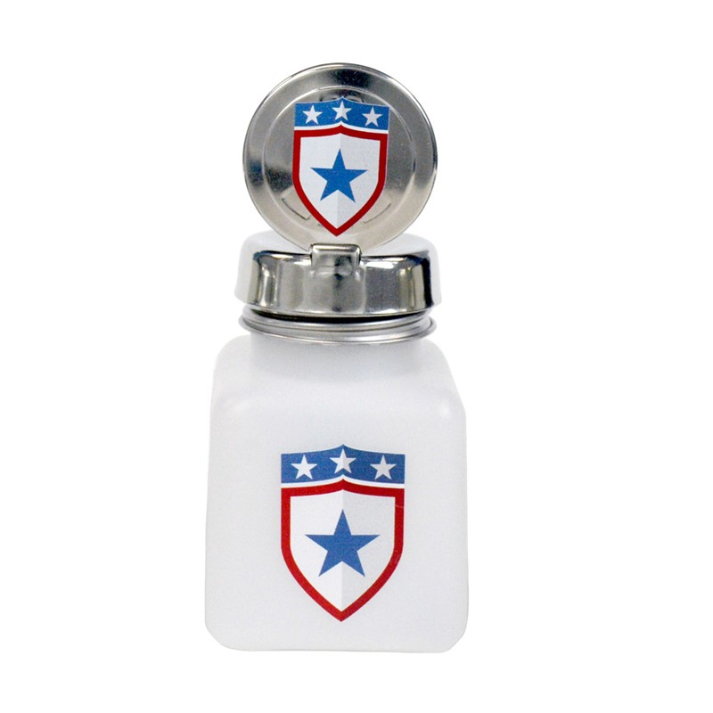 34419-ONE-TOUCH, 4 OZ, NATURAL, W/MEMORIAL DAY BADGE DESIGN