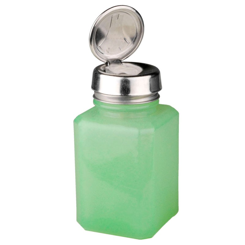 35246-ONE-TOUCH, SQUARE, JADE GLASS 6 OZ
