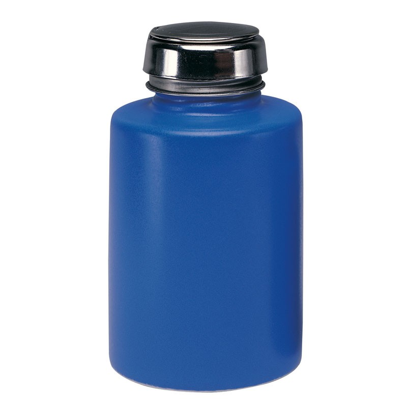 35328-ONE-TOUCH, SS,ROUND COBALT BLUE CERAMIC,6OZ