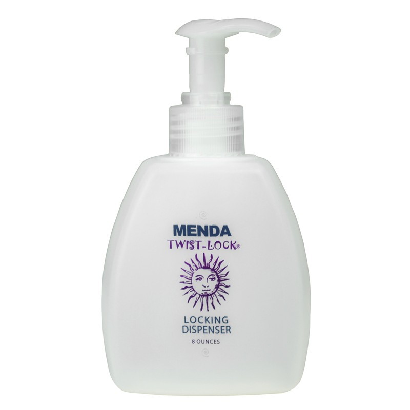35432-BOTTLE, EURO, 8 OZ, WITH LOTION PUMP, IMPRINTED