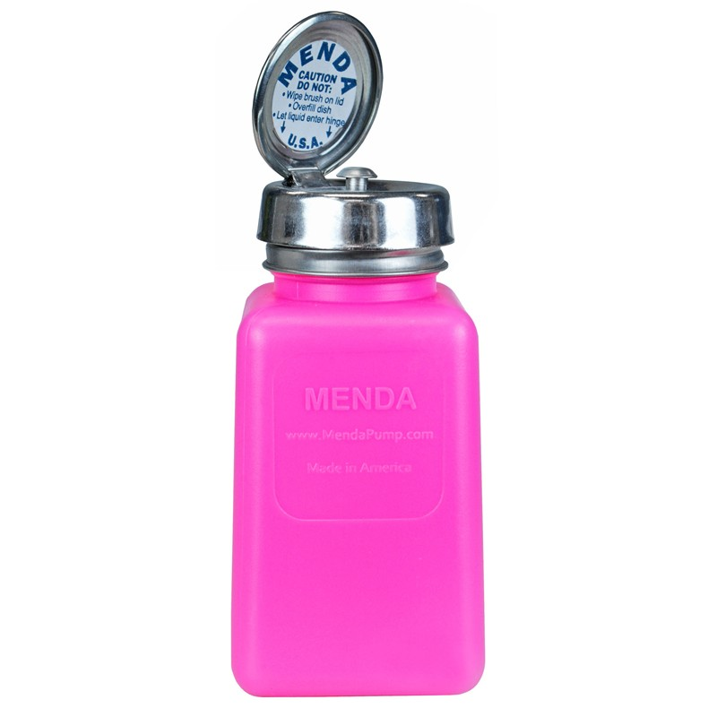 35485-PURE-TOUCH, HDPE, PINK, 6OZ