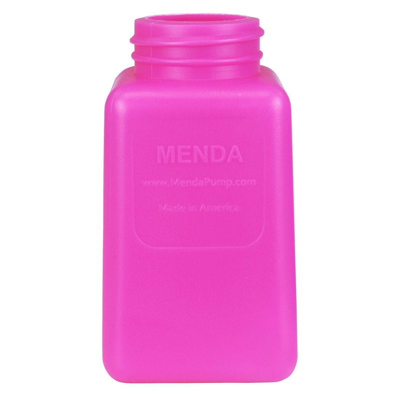 35487-BOTTLE ONLY, HDPE, PINK, 6OZ