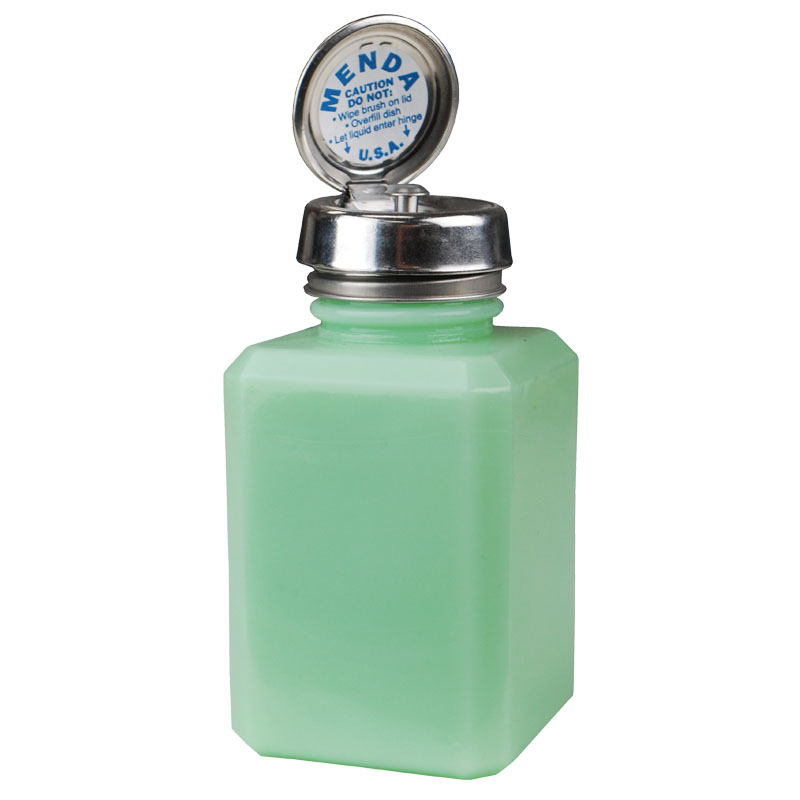 MDA-5024-PURE-TOUCH, SQUARE, RETRO MINT GLASS, 6 OZ